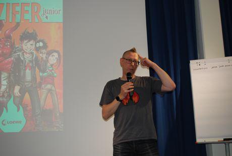 Leicht zu erkennen, welche Comicfigur Jochen Till am liebsten hat